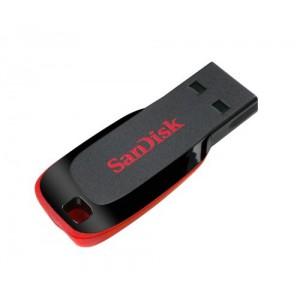 SanDisk SDCZ50-128G-B35 128 GB Cruzer Blade USB 2.0 Flash Drive - Black