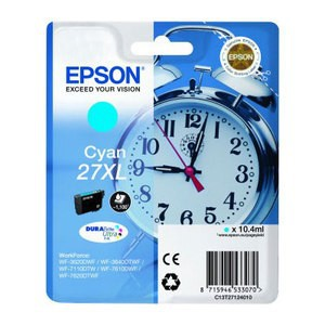 Epson 27XL High Capacity Cyan T2712 Ink Cartridge (T271240)