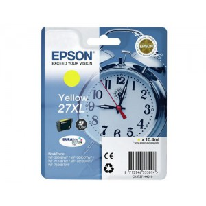 Epson 27XL High Capacity Yellow T2714 Ink Cartridge (T271440)