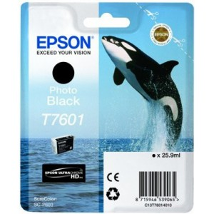 Epson T7601 Genuine Photo Black Ink Cartridge