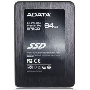 """ADATA Premier SP600 2.5"""" 64GB SATA III MLC Internal Solid State Drive (SSD)"""