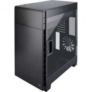 Corsair Carbide Series Clear 600C Inverse Full-Tower Case -Black
