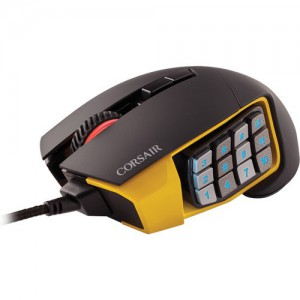Corsair Scimitar Optical MIMO Mouse (Black/Yellow)