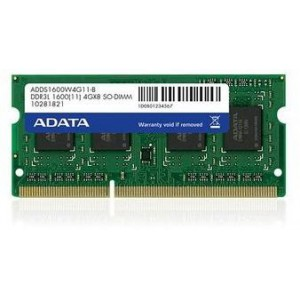 Adata 8GB 1600MHz DDR3 Notebook Memory Module (AD-DDR3S-1600-8GB)