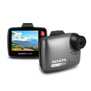 Adata RC300, Full HD 140-degree Car Video Recorder Dash Cam, G-Sensor, WDR Technology and 16GB MicroSD