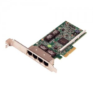 Dell Broadcom 5719 Quad Port 1 Gigabit Server Adapter Ethernet PCIe Network Interface Card Full-Height