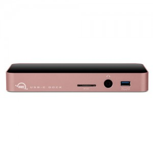 OWC 11-Port USB Type-C Docking Station Rose Gold (OWCTCDOCK11PRG)