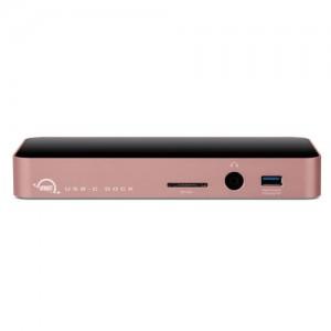 OWC 11-Port USB Type-C Docking Station Rose Gold (OWCTCDOCK11PRG)