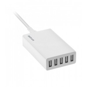 Astrum A92550-Q Home Charger 5ports 5.0Amps Smart IC Protection
