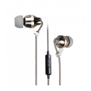 Astrum A11040-H Metal Stereo Earphones with In-wire mic