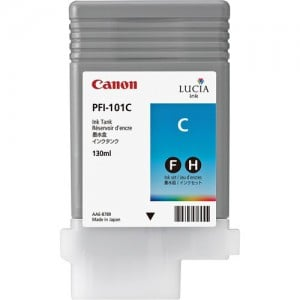 Canon PFI-101C Cyan Ink Cartridge (130 ml)