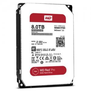 "Western Digital 8TB Red Pro 7200 rpm SATA III 3.5"" Internal NAS Hard Disk Drive (HDD)"