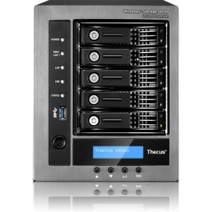 Thecus W5810 5-Bay NAS (Network Attached Storage) Enclosure