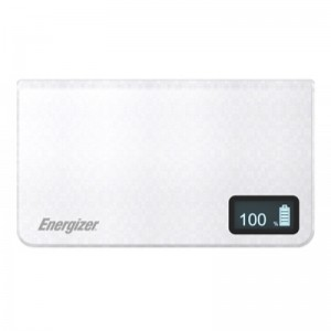 Energizer 9000mAh White Power Bank for Smartphones