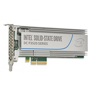 Intel® SSD DC P3520 Series  (2.0TB, 1/2 Height PCIe 3.0 x4, 3D1, MLC,NAND) Solid State Drive