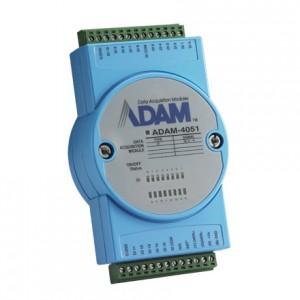 Advantech ADAM-4051 16-Ch Isolated DI Module w/ LED & Modbus