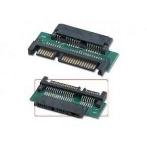 Lindy (33502) Micro SATA Data+Power to SATA Data+Power Adapter 3.3V/5V DC Dock Station