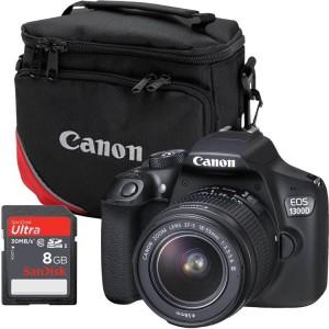 Canon EOS 1300D Digital SLR Camera DC Starter Bundle