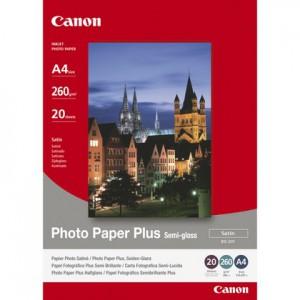 Canon SG-201 Semi-Gloss Photo Paper Plus A4 - 20 Sheets