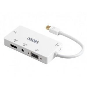 Unitek Mini DisplayPort to HDMI / DVI / VGA / Audio Converter