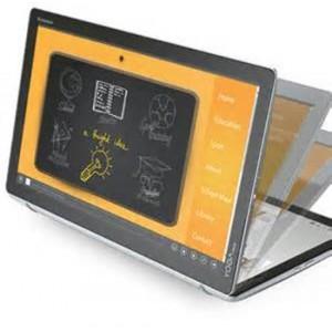 Lenovo Yoga Home 500 i3-5005U 4G 500G+8GB SSHD Windows 10 Touch (Silver) Desktop (F0BN003FSA)