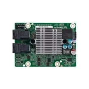 TYAN 8-port SAS 12G mezzanine w/ 2x SFF-8643 LSI RAID 0/1/1E/10