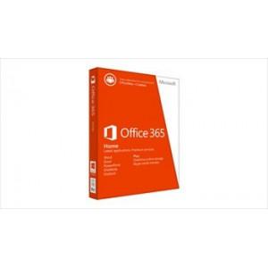 Microsoft Office 365 Home Medialess Software- 1 Year Warranty