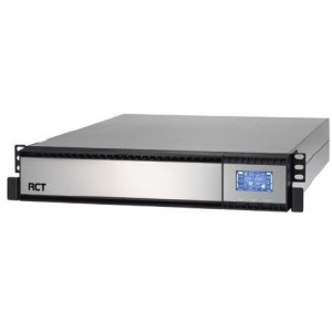 RCT 1000VA On-Line Rackmount UPS - 800 W , LCD Display , 1 x RS232 & 1 x USB Port