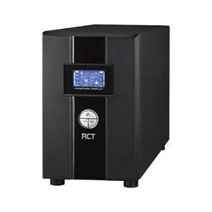 RCT 2000GT On-Line UPS 1800W - Single Phase with Ground, LCD Display, 1 x RS232 & 1 x USB Port + SA Wall Socket - GEN 2