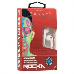 Targus ROCKA RKA-EP1DK - Danny K Earphones with Mic