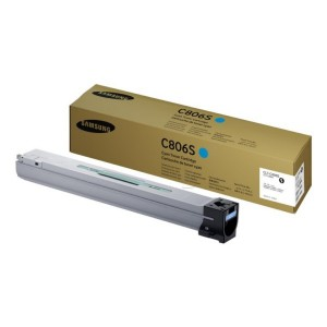 Samsung CLT-C806S Toner Cartridge, 30K Yield, Cyan