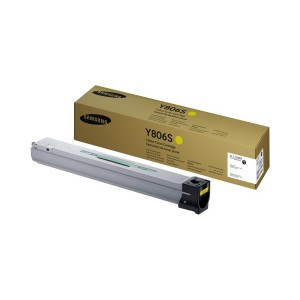 Samsung CLT-Y806S Yellow Toner Cartridge (30K pages) 30000 Page Yield