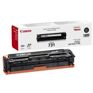 Canon 731 Yelow Cartridge with yield of 1500 pages