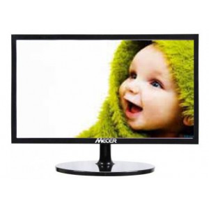 "Mecer A2256H 21.5"" LED Monitor 1920 x 1080 Full HD W/VGA + HDMI & Built-in Speakers - Black"