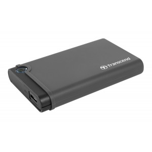 "Transcend 25CK3 USB 3.0 2.5"" Enclosure for SATA 6Gb/s SSD &HDD (TS0GSJ25CK3)"