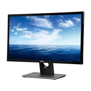 "Dell SE2416H Black 23.8"" 6ms HDMI Widescreen LED Backlight LCD Monitor IPS 250 cd/m2 DCR 8,000,000:1 (1000:1)"