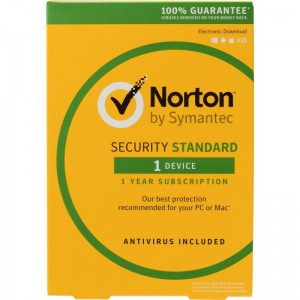 Norton 21365644 Security Standard 1 Device 1 Year Subscription