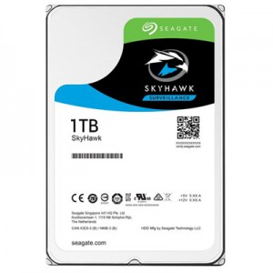 "Seagate 1TB SkyHawk 3.5"" SATA 6Gb/s Surveillance Hard Drive (HDD) with 64MB Cache"