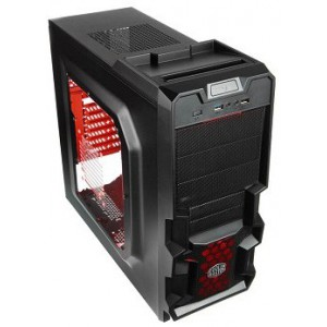 CoolerMaster K380 Black ATX PC Chassis