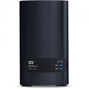 WD 4TB My Cloud EX2 Ultra 2-Bay Personal Cloud Storage Server (NAS)