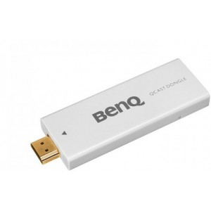 BenQ QP01 Qcast MHL FullHD HDMI Dongle for Wireless Mobile Device Streaming (5J.JCK28.S01)