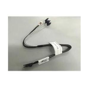 Intel SAS Cable Kit AXXE3PED8DCBL - Mini-SAS/SATA for Backplane, Motherboard - 768 MB/s - 2 Pack