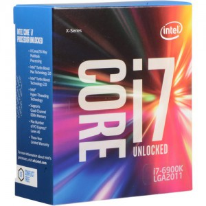 Intel Core i7-6900K 3.2 GHz Eight-Core LGA 2011-v3 Processor