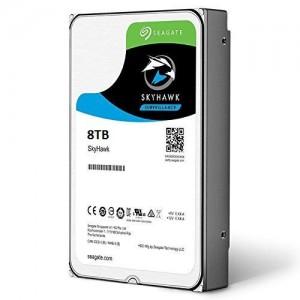 Seagate SkyHawk ST8000VX0022 8TB 256MB Cache 3.5-inch Surveillance Internal Hard Drive