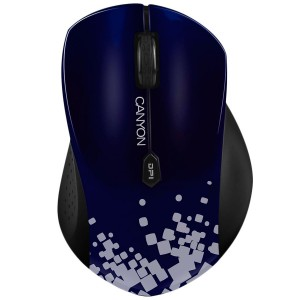 Canyon Mouse (Wireless, 6 Button) Blue with Stylish Print