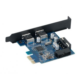 Orico 2 Port USB3.0 PCI-E Expansion Card (PVU3-2O2I)