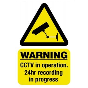 CCTV Warning Signs