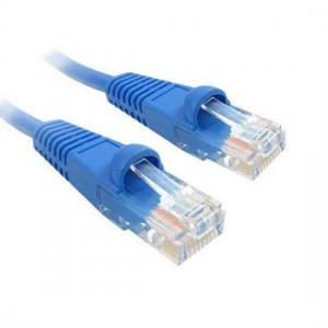 CAT5E PATCH CORD 1M BLUE