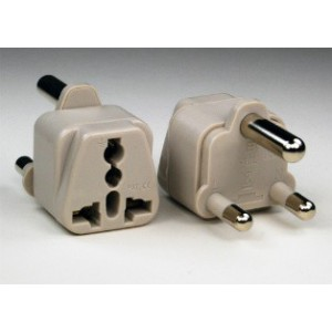 European to South African Power Plug Converter
