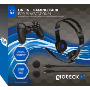 Gioteck Online Gaming Pack for PS4-GIO-OGPPS4-11-MU